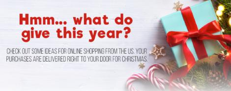 Christmas gift ideas that you can online in the USA.