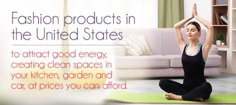 Fashion products in the United States to attract good energy,
