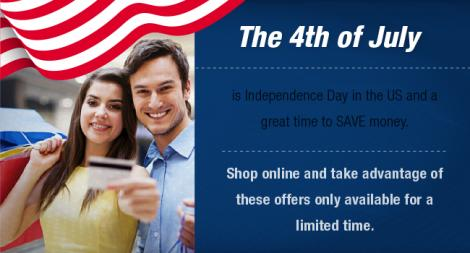 4th of July sales are here