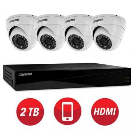 Pro 8-Channel 960H 2TB Surveillance System with (4) Camera. Save $196.50