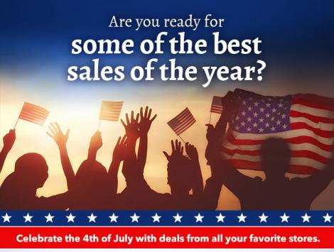 4th of July sales in the US – don't miss them