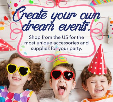 Create your own dream events