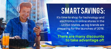 Smart Savings: It's time to shop for technology and electronics in online stores in the United States,