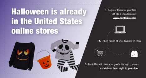 Shop in USA Halloween garments for all ages