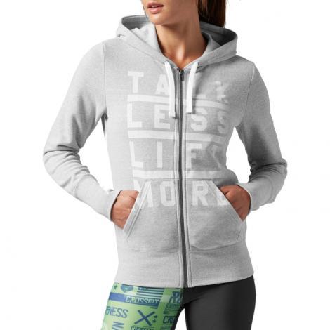 Reebok Women's CrossFit Full Zip Hoodie