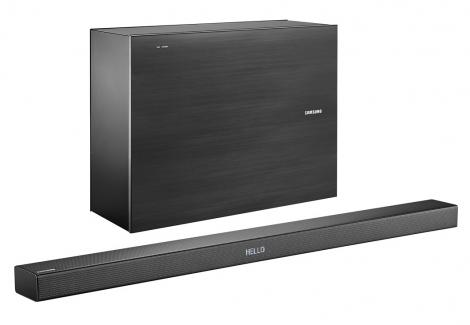 Samsung wireless 3.1-channel system.