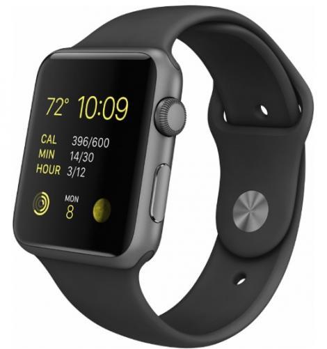 Apple-Geek Squad Certified Refurbished Apple Watch Sport