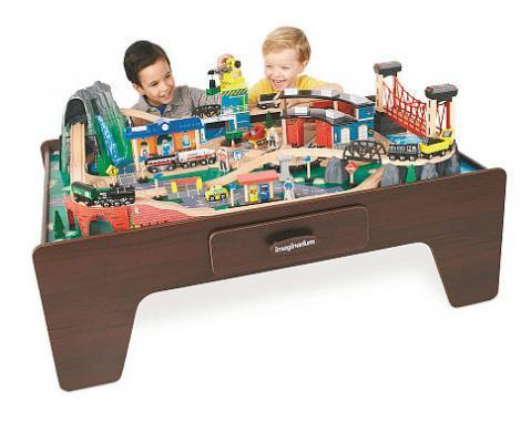 Mountain Rock Train Table. hours entertainment. $119,99 in ToysRus