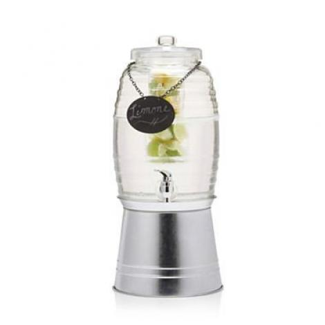 Sedona Glass Beverage Dispenser with Infusion